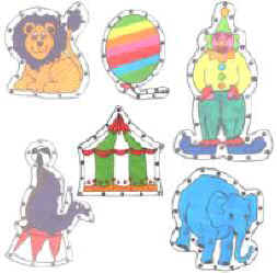 Circus E-Z Sew Sewing Cards